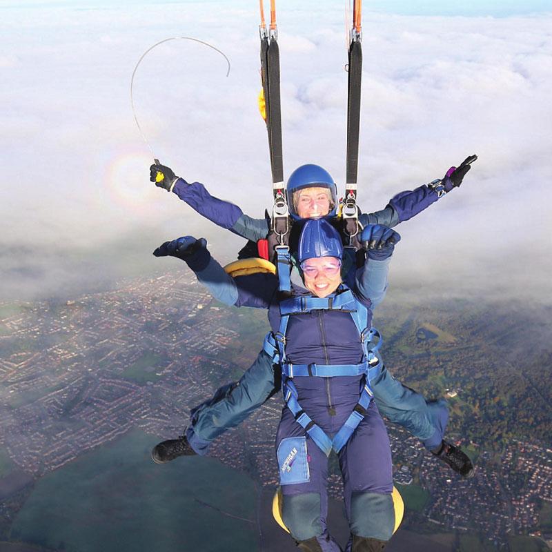 Female Skydiving Instructors